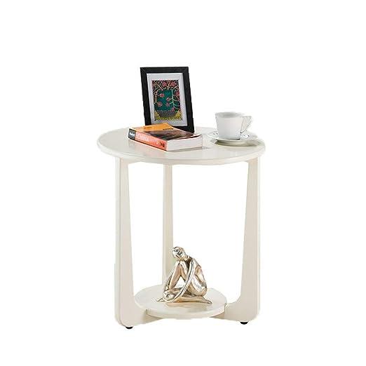 Mesa Auxiliar La mesa de centro redonda de madera nórdica, mesa ...