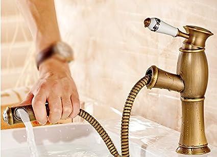 Lavabo Esterno Moderno : Lsrht rubinetto per lavabo moderno retrò di rame a caldo e a