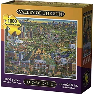 Dowdle Jigsaw Puzzle - Valley of The Sun - 1000 Piece: Toys & Games