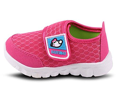 iDuoDuo Kids Mesh Baby Sneakers Super Light Weight Running Shoes Peach 1 3.5 M US Toddler by iDuoDuo (Image #1)