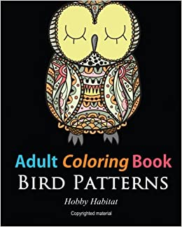 Adult coloring books bird zentangle patterns 51 beautiful stress adult coloring books bird zentangle patterns 51 beautiful stress relieving bird designs hobby habitat coloring books volume 5 hobby habitat coloring fandeluxe Image collections