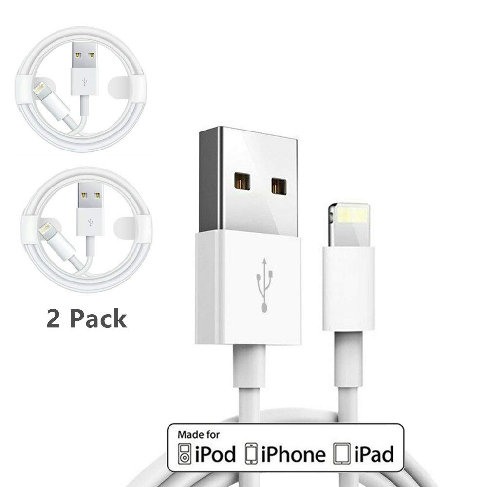 Amazon.com: 2 cables de carga y cargador para Apple iPhone ...