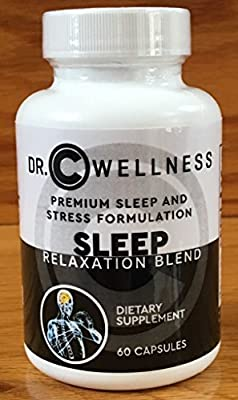 Sleep Aid and Relaxation Formulation- Sleeping pills- Natural supplement with Valerian root , Melatonin,, L-Tryptophan , St-John's Wart, Ashwagandha, 5-HTP, Chemomile-