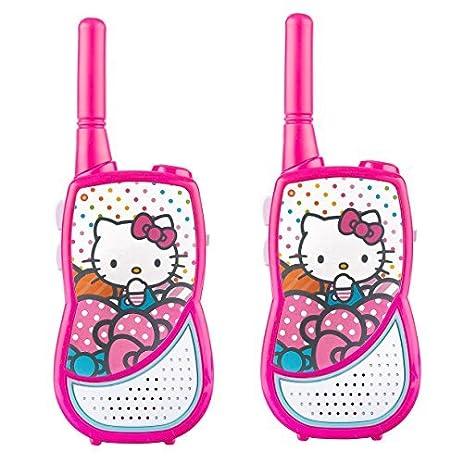 Hello Kitty WT3-01009 Hello Kitty Night Action Walkie Talkie by Hello Kitty