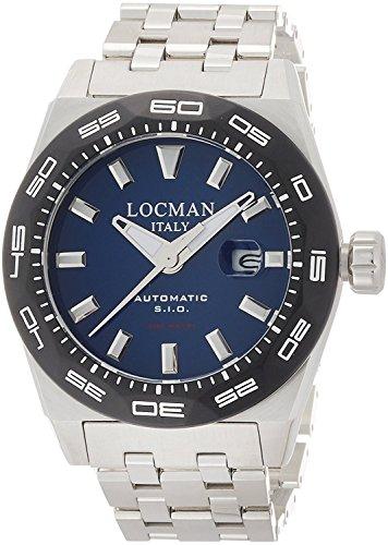 LOCMAN watch STEALTH 300M 0215V3-0KBLNKBR0 Men's