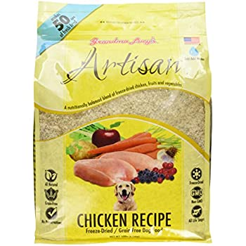 Grandma Lucy's Freeze-Dried Grain-Free Pet Food: Artisan Chicken 10lbs