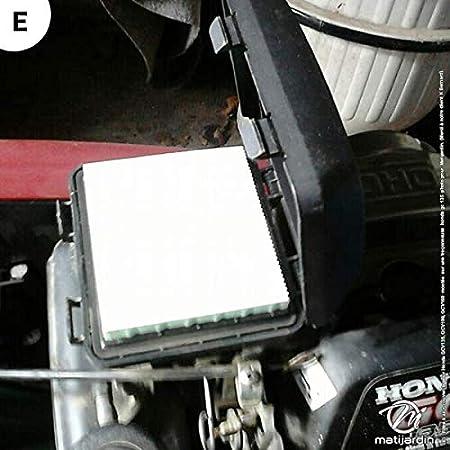 Filtro de Aire + tapa para Honda 17211-ZL8 - 000, 17231-ZM0 ...