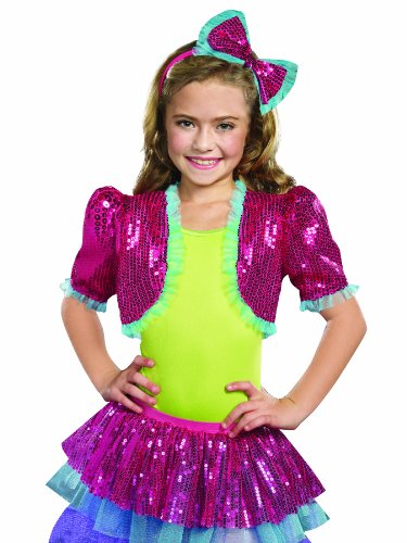 Discount Costumes Dance Kids For (SugarSugar Dance Craze Bolero Shrug, Hot Pink,)