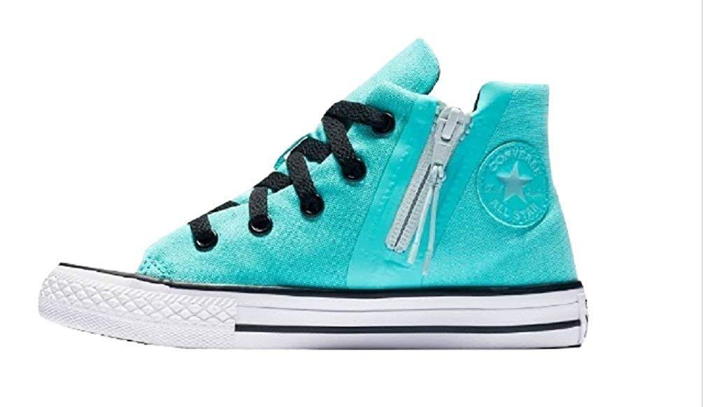 Converse CTAS Sport Zip Hi, Blue, Size 3 M Us Little Kid Fxri