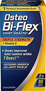 Osteo Bi-Flex Triple Strength w/ Vitamin D, 80 Coated Tablets