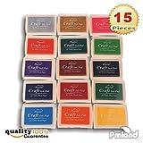 PMLAND Stamp Ink Pads for Craft, Stamp on