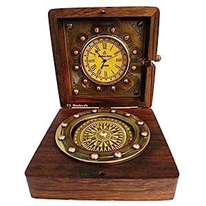 51pFzgMbmfL._SS300_ Nautical Themed Clocks