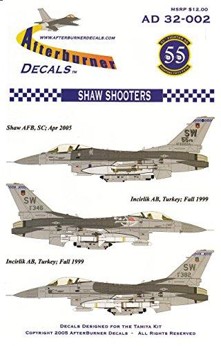 urner Decals F-16C Block 50 Falcon 55FS