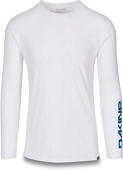 DAKINE - Camisa de Surf de Manga Larga Holgada Trabajo Pesado, Blanco - Manga Corta - Camisa de Surf Holgada de 6.5 oz - Costuras Planas: Amazon.es: Deportes y aire libre