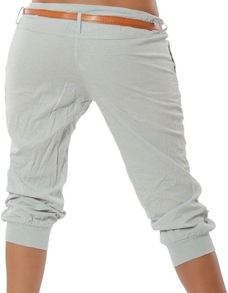 Mujer Pantalon De Tela Mujer Pantalones Chino Para Capri 3 Tamanos Comodos 4 Pantalones Cortos De Verano Bermudas Pantalones De Color Solido Pantalones Cortos Streetwear S Ropa Brandknewmag Com