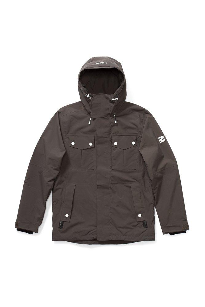 18-19 HOLDEN スノーボードウェア Winfield ジャケット メンズ ホールデン B07FFM5QDY Small|SHADOW SHADOW Small