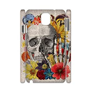 Diy Colorful Sugar Skull Phone Case for samsung galaxy note 3 3D Shell Phone JFLIFE(TM) [Pattern-2]
