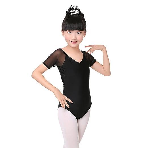 4b4cf24bcb4e Amazon.com  DREAMOWL Kids Girls Ballet Dance Leotard Gymnastics ...
