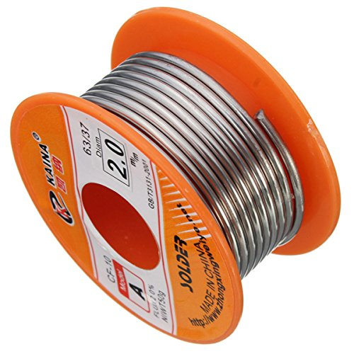 hot sale 2017 2.0mm 63/37 Tin Lead Rosin Core Melt Solder Wire Soldering Iron Wire Reel