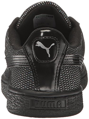 Puma Womens Basket Reset Wns Fashion Sneaker Puma Black-puma Black