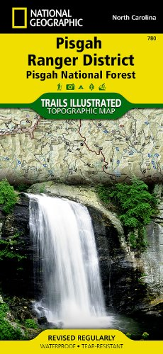 National Forest Trail Map (Pisgah Ranger District [Pisgah National Forest] (National Geographic Trails Illustrated Map))