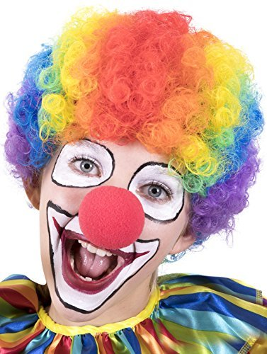 Bozo The Clown Wig (Kangaroo Halloween Accessories - Clown Rainbow)