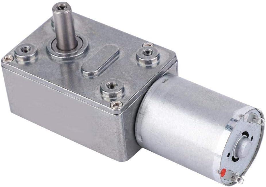 Motor de alta torsión duradero de bajo ruido, motor de gusano DC24V, para campana extractora(24V, 23RPM)