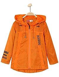 BYCR Boys' Lightweight Rain Jacket Windproof for Kids Size 5-12 No. 6160100882