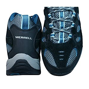 Merrell Ridgepass Mid Gore-TEX Womens Walking/Hiking Boots/Trainers-Black-6.5