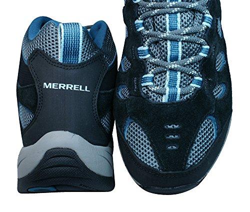 Merrell RIDGE PASS MID GORE-TEX ® trekking botas mujeres Black