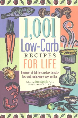 1,001 Low-Carb Recipes for Life