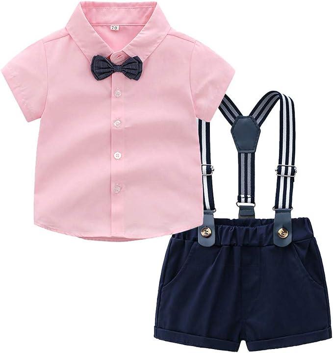Huhu833 Baby Jungen Bekleidungssets, 3 stücke Kinder Jungen