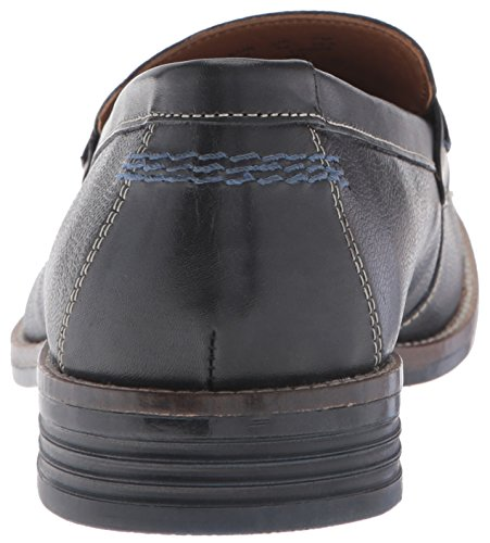 Hush Puppies Mens Galante Parkview Penny Loafer In Pelle Nera