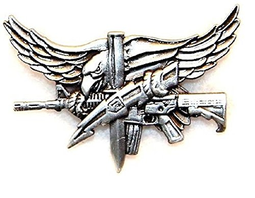 SWAT Operator Pin - Antique Silver (Agency Pin)
