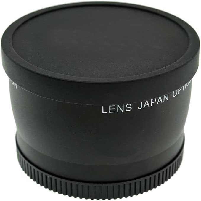Includes Lens Adapter Ring Optics 0.43x High Definition Wide Angle Conversion Lens for Canon Powershot G1X