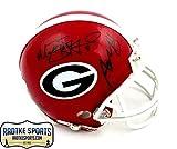 Aaron Murray & Matthew Stafford Autographed/Signed Georgia Bulldogs Riddell NCAA Mini Helmet