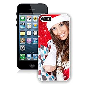Iphone 5s Case,Christmas Gifts Girl White Case For Iphone 5 5S Protective Case