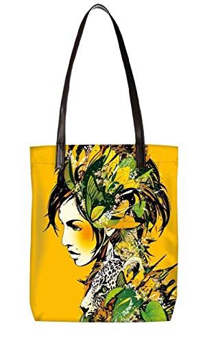 Snoogg Strandtasche, mehrfarbig (mehrfarbig) - LTR-BL-2883-ToteBag