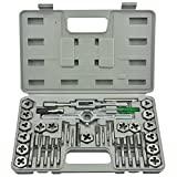 Neiko 00910A Metric - M3 to M12 Professional-Grade Tap and Die Set (40 Piece)