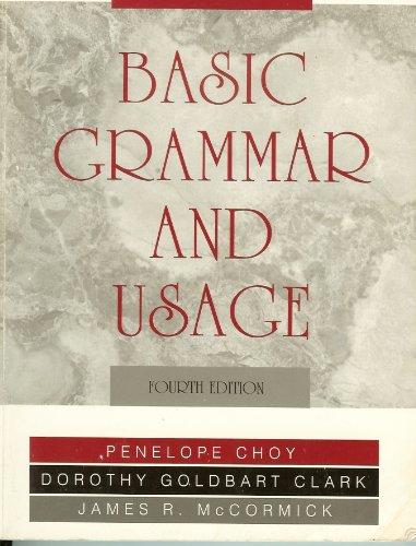Basic Grammar and Usage