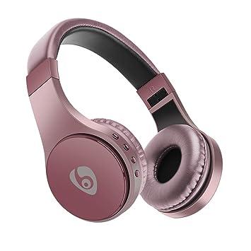 Auriculares Bluetooth, Appow Auriculares inalámbricos plegables para bajo la música con micrófono, Auriculares Bluetooth 4.1 estéreo para ...