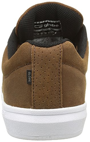 Sneaker SG Eagle The Globe Braun Toffee Herren White IFxaw