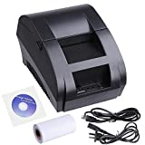 Yescom 58mm USB Interface Monochrome Thermal Printer Receipt Label Print