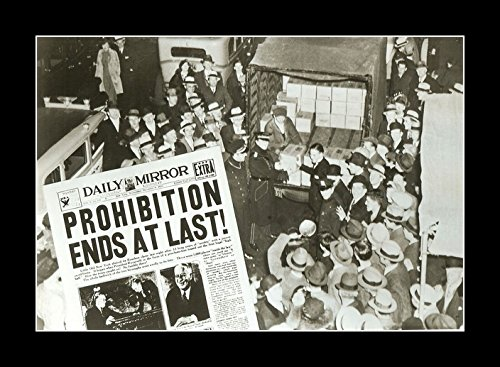 10 Framed Legends - 8 x 10 All Wood Framed Photo Prohibition-Repeal-Day