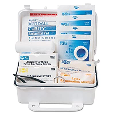 First Aid Only 10 Person First Aid Kit, Weatherproof Plastic Case from First Aid Only