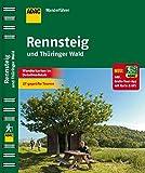 ADAC Wanderführer Rennsteig und Thüringer Wald: Inklusive Gratis Tour App mit Karte & GPS