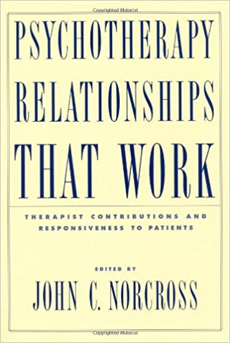 Psychotherapy relationships that work therapist contributions and psychotherapy relationships that work therapist contributions and responsiveness to patients 9780195143461 medicine health science books amazon fandeluxe Image collections