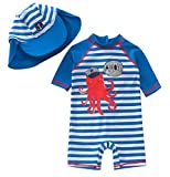 Best Octopus Bathing suits - TAIYCYXGAN Baby Boys One Piece Bathing Suit Toddlers Review