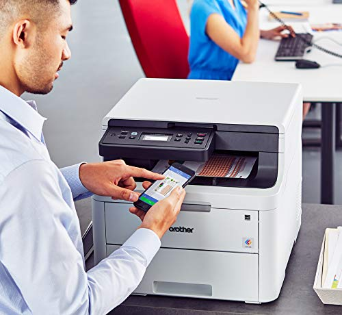 Brother Digital Color Printer Results with Convenient Copy Scan, Wireless Duplex Printing, Replenishment Enabled