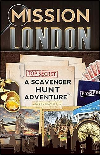 Amazon.com: Mission London: A Scavenger Hunt Adventure ...
